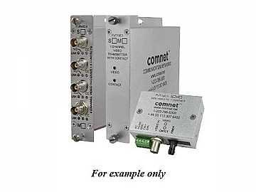 FVT10C1S1 10 Bit SM 1fiber Digitally Encoded Video Extender (Transmitter)/Contact Closure by Comnet