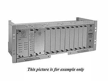 FVT120S1 SM 1fiber 12 Channel Video Extender (Transmitter) by Comnet
