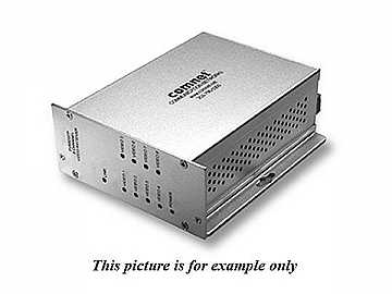 FVT80SFP 8 Channel Digitally Encoded Video Extender (Transmitter) by Comnet
