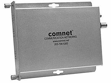 FVR10 Multimode fiber optic AM Video Extender (Receiver) with Manual Gain Control by Comnet