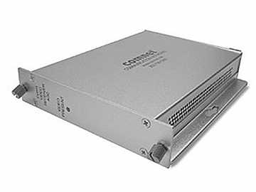 FVR11 Multimode fiber optic AM Video Receiver with Automatic Gain Control by Comnet