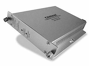 FVR15M2 Dual Fiber Optic Multimode Video Extender (Receiver)/Data Transmitter by Comnet
