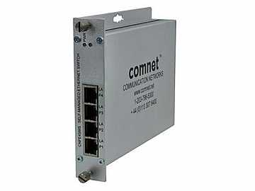 CNFE4SMS 4 Port Self Managed 10/100 Mbps Ethernet 4TX Switch by Comnet