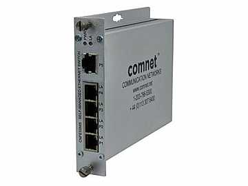 CNFE5SMS 5 Port Self Managed 10/100 Mbps Ethernet 5TX Switch by Comnet