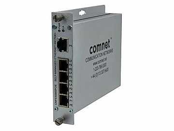 CNFE5SMSPOE 5 Port Self Managed 10/100 Mbps Ethernet 5TX Switch by Comnet