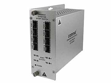 CNGE8US 8 Port 1000Mbps Ethernet Network Unmanaged Switch SFP by Comnet