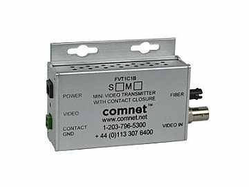 FVT1C1BS1/M 8-Bit S-mode Video Mini Extender (Transmitter) with Contact Closure by Comnet