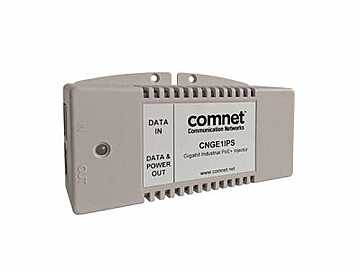 CNGE1IPS Power Over Ethernet Midspan Injector For 10/100/1000T(X) by Comnet