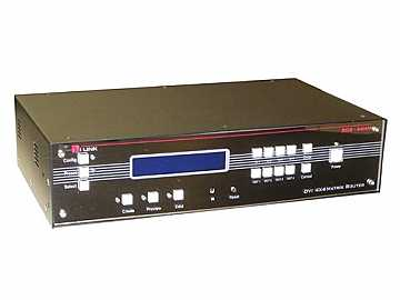 DVI Matrix Router 6x6 w/HDCP