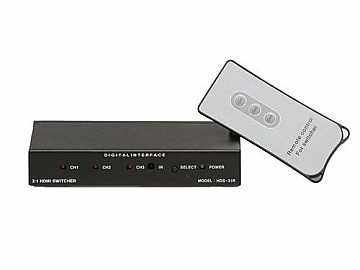 HDS-31R HDMI Switcher 3x1 w/Remote by Digital Extender