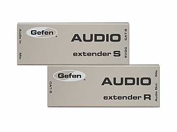 EXT-AUD-1000 Audio Extender (Receiver/Sender) Kit Up To 1000ft by Gefen