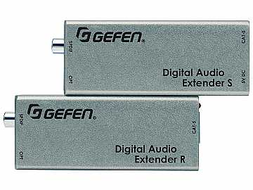 EXT-DIGAUD-141 Coaxial And Optical Extender(Receiver/Sender) Kit Up to 330ft by Gefen