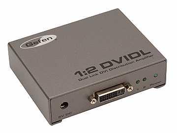 EXT-DVI-142DLN Dual Link DVI Distribution Amplifier 1x2 by Gefen