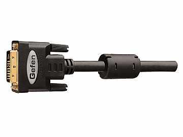 CAB-DVIC-DLN-50MM Dual Link DVI Copper Cable 50 ft (M-M)/Black by Gefen