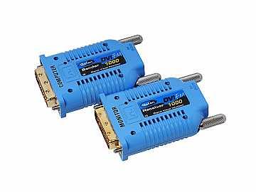 EXT-DVI-FM1000 Extender (Receiver/Sender) Kit DVI over One Strand of Fiber Cable by Gefen