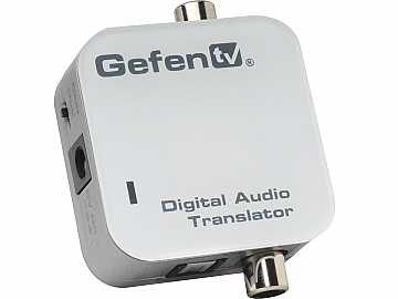 GTV-DIGAUDT-141 TV Coaxial / Optical Digital Audio Converter by Gefen