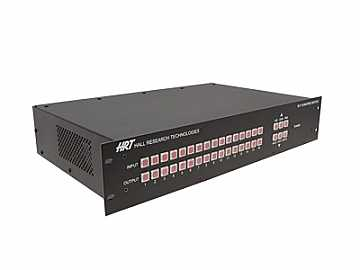 VSM-I-A-16-16 16x16 VGA Video Matrix with IP and Stereo Audio by Hall Research