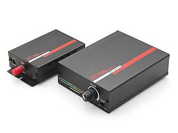 HR-101 Mic and Line-Level Fiber Optic Audio Extender (Transmitter/Receiver) Kit by Hall Research