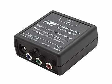 UVB1-CP-R Component Video (YPbPr) Balun Extender (Receiver) for SD/HDTV by Hall Research