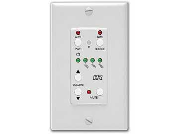 SW3-UI-VOL Auxillary Keypad Wall Plate Controller (3 add buttons) by Hall Research