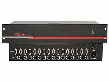 UV1-S-16X 16 Channel Video and Power Extender (Sender) by Hall Research