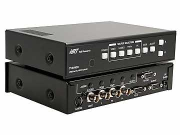 TVB-400 Video to PC/HDTV Switching Scaler by Hall Research