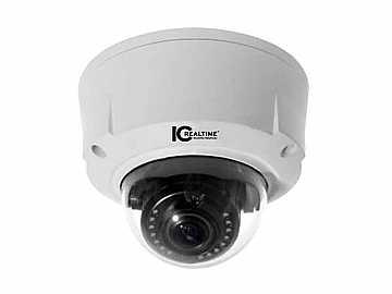 ICIP-D1300VIR 1.3 MP 2.8-12mm WDR HD Vandal Proof IR Network Camera by ICRealtime