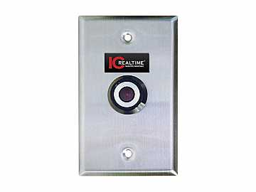 ICR-PEEKER SINGLE GANG BOX CAMERA/600 TVL/1.5MM WIDE ANGLE LENS by ICRealtime