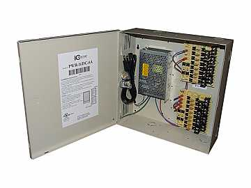 PWR-16DC-8A 16 Channel Fused Power Distribution Box/12Vdc/8 Amps by ICRealtime