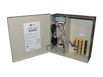 PWR-4AC-8A 4 Channel Fused Power Distribution Box/24Vac/8 Amps by ICRealtime