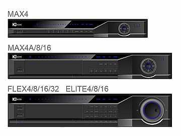 DVR-FLEX8E 8 CH High Peformance 2U DVR with DVD-RW and 500GB HD by ICRealtime