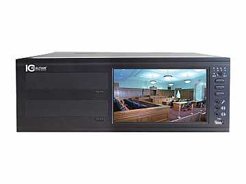 NVR-F50 4-Ch 120Fps/120Fps Nvr W Dual Direct-Write Dvd Burners/1Tb by ICRealtime