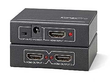 SP-HD1X24K 1x2 Port 4K UHD HDMI Splitter by KanexPro