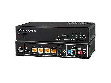 SP-HDBT1X4 1x4 4K Compliant HDBaseT/HDMI Professional Splitter by KanexPro
