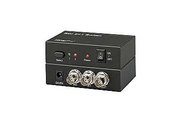 SW-SDI2X1 2x1 3Gb/s SDI Switcher by KanexPro