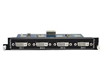 MOD-OT-DVI 4-Output DVI card for Modular matrix by KanexPro