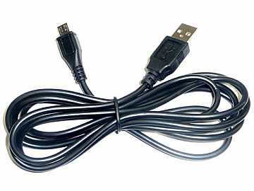 KD-USBAMB6 USB A to Micro USB B Data Cable - 6 ft by Key Digital