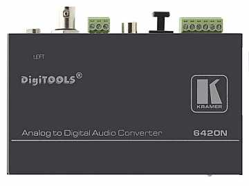 6420N Balanced Stereo Audio to Digital Audio Format Converter by Kramer