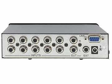VS-55A 5x1 Stereo Audio Switcher by Kramer