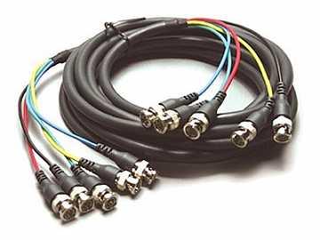 C-5BM/5BM-50 50ft 5 BNC RGBHV Mini Coax Cable by Kramer