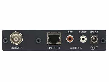 711N Composite Video and Stereo Audio over Twisted Pair Transmitter by Kramer