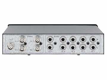 VS-41AV 4x1 Composite Video and Stereo Audio Mechanical Switcher by Kramer