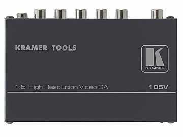 105V 1x5 Composite Video Distribution Amplifier by Kramer