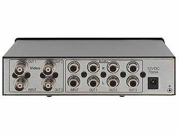 VM-30AVB 1x3 Composite Video and Stereo Audio Distribution Amplifier by Kramer