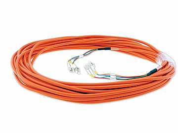 CP-4LC/4LC-75 75ft 4 LC Plenum Rated Fiber Optic Cable by Kramer