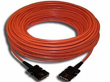 C-FODPM/FODPM-33 DisplayPort(M) to (M) Hybrid Multi-Mode Fiber 33ft by Kramer