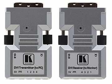 610R/T Detachable DVI Optical Extender (Transmitter/Receiver) Set by Kramer