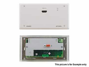 WP-580RXR/D(B) HDMI Extended Range HDBaseT WP Receiver/Decora Style/Black by Kramer