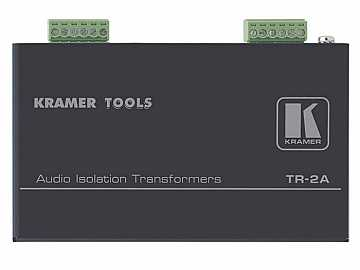 TR-2A Balanced Stereo Audio Isolation Transformer by Kramer