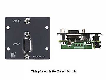 WXA-2(W) 15-Pin HD and 3.5mm to Terminal Block/White by Kramer